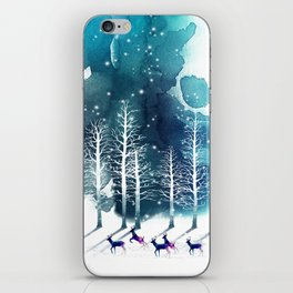 Winter Night 2 iPhone Skin