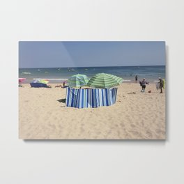 Twin Umbrella's and the Sun! Metal Print