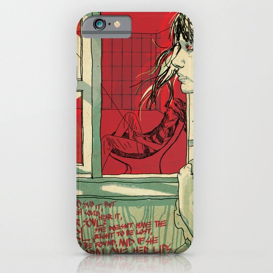 hang this girl iPhone & iPod Case