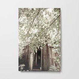 Nature leaves nothing untouched Metal Print