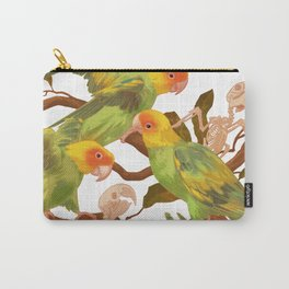 The extinction of the Carolina Parakeet. Carry-All Pouch