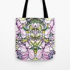 Rose bushes Tote Bag
