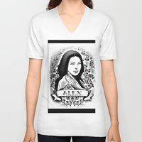 alex vause V-neck T-shirts featuring Alex Vause by SwanniePhotoArt
