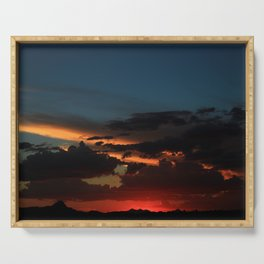 Amazing Arizona Sunsets IX Serving Tray