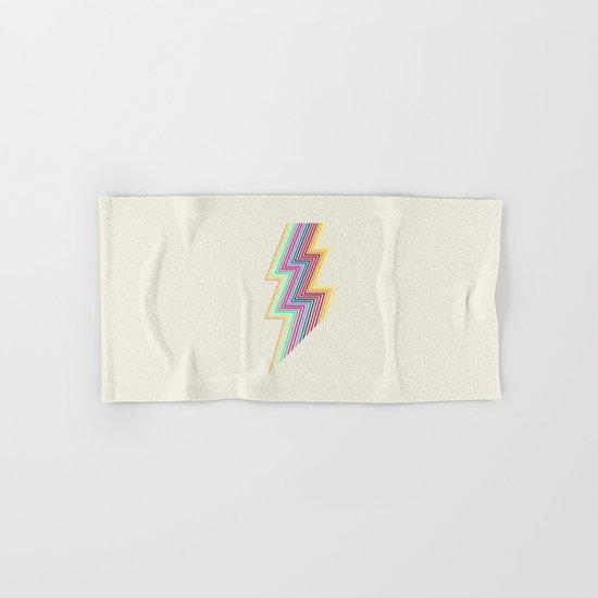80's lightning Hand & Bath Towel