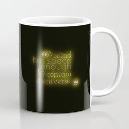 Space Enough to Contain a Universe Coffee Mug