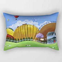 Hilly Heights Rectangular Pillow