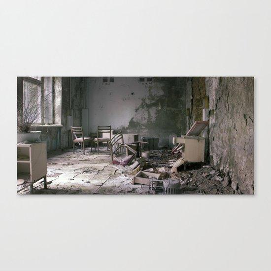 Chernobyl - дім Canvas Print