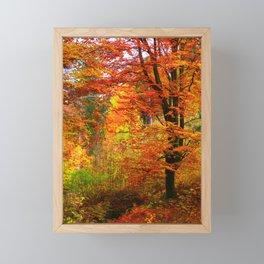 herbst Framed Mini Art Print