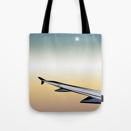 Airplane Views #1 Tote Bag