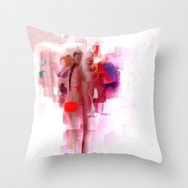 The Bikini Bar Throw Pillow
