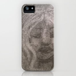 White haired iPhone Case