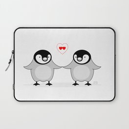 Penguin Love Laptop Sleeve