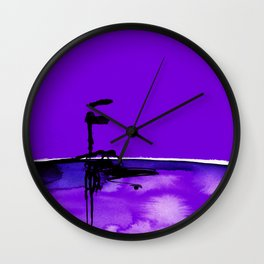 Introspection No. 20J by Kathy Morton Stanion Wall Clock
