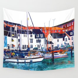 Weymouth Port Wall Tapestry