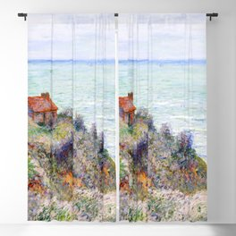Cabin of the Customs Watch (1882) by Claude Monet Blackout Curtain