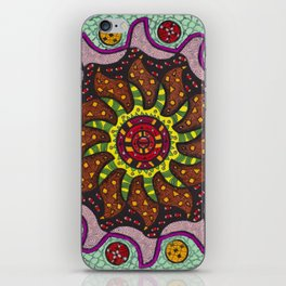 Inner Light Mandala - מנדלה אור פנימי iPhone Skin