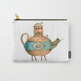 It's Time For Tea Carry-All Pouch