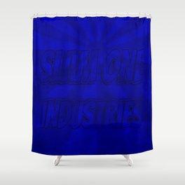 Slam 1 Industries Blue Sunrise Shower Curtain