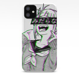 LEWD - SAD JAPANESE ANIME AESTHETIC iPhone Case
