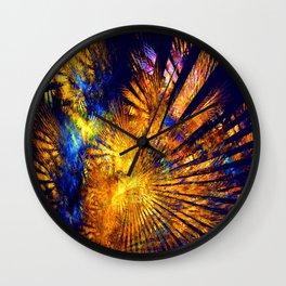 Caribbean Sun Wall Clock