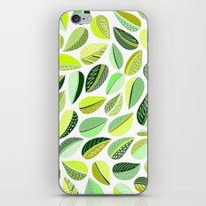 Leaf Green iPhone & iPod Skin