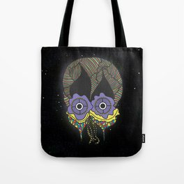 The mask we wear is one Tote Bag