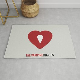 The Vampire Diaries - Minimalist Rug