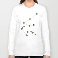 aquarius Long Sleeve T-shirts featuring Aquarius by Leah Flores