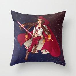 Jedi Jade Throw Pillow