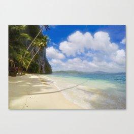 Spectacular beach Canvas Print