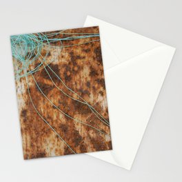 Rusty sun Stationery Cards
