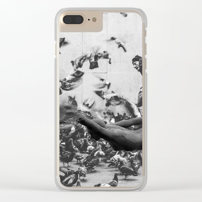 Need more Space Clear iPhone Case