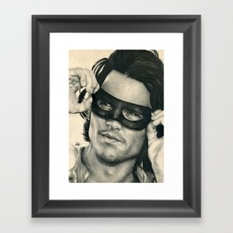 Don Juan de Marco - Johnny Depp Traditional Portrait Print Framed Art Print