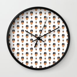 Chance The Rapper Pattern Wall Clock