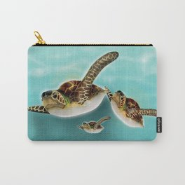 Sea Turtles Carry-All Pouch