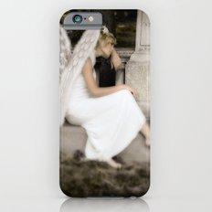 A Guardian Angel graveside iPhone 6s Slim Case