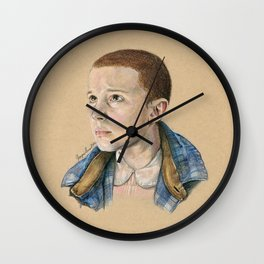 Eleven: Stranger Things Wall Clock