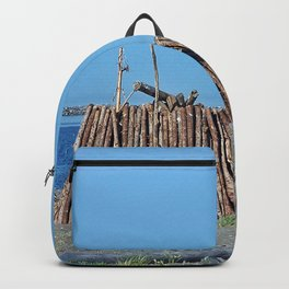 Extreme Bonfire on the Beach Backpack