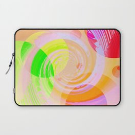 Re-Created Twisters No. 9 by Robert S. Lee Laptop Sleeve