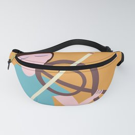 Girl playing music Fanny Pack