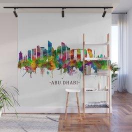 Abu Dhabi UAE Skyline Wall Mural