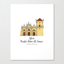 Iglesia del Carmen Canvas Print