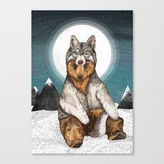 Wear Wolf Canvas Print