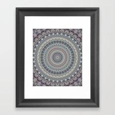 Mandala 546 Framed Art Print