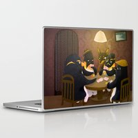 poker Laptop & iPad Skins featuring Poker by happymiaow