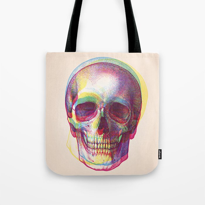 acid calavera Tote Bag