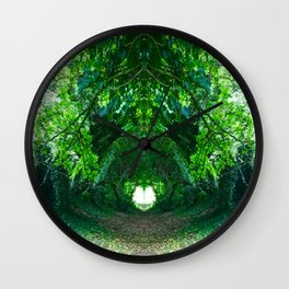 The Lovers Walk Wall Clock