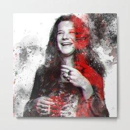 Joplin, Janis Metal Print