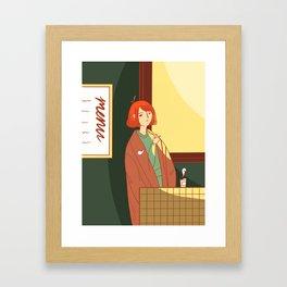 Coffee For Wednesdays Framed Art Print